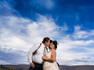 The wedding of Cassie and Josh