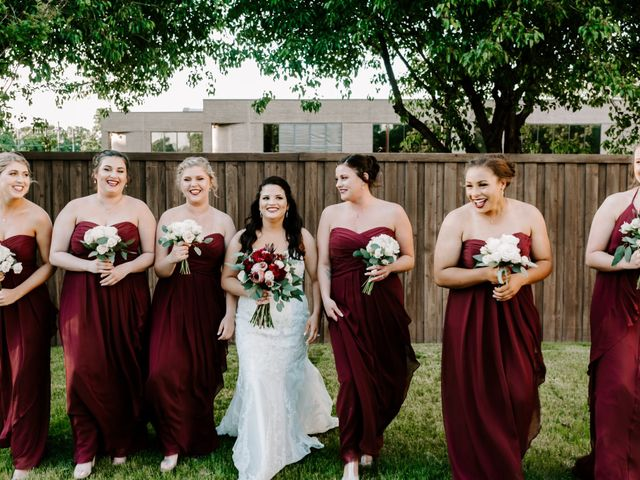 Justin and Cayte's Wedding in Hurst, Texas 1