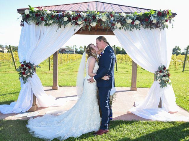 The wedding of Allison and Josh