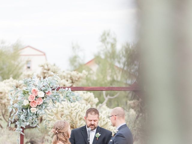 Chris and Kelsey's Wedding in Apache Junction, Arizona 13