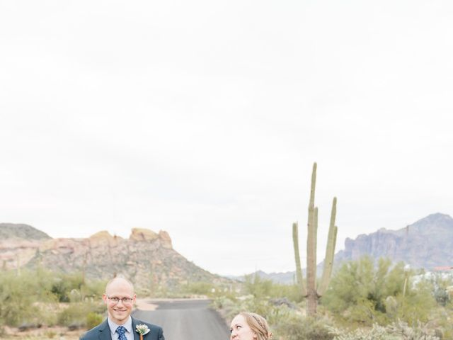 Chris and Kelsey's Wedding in Apache Junction, Arizona 14