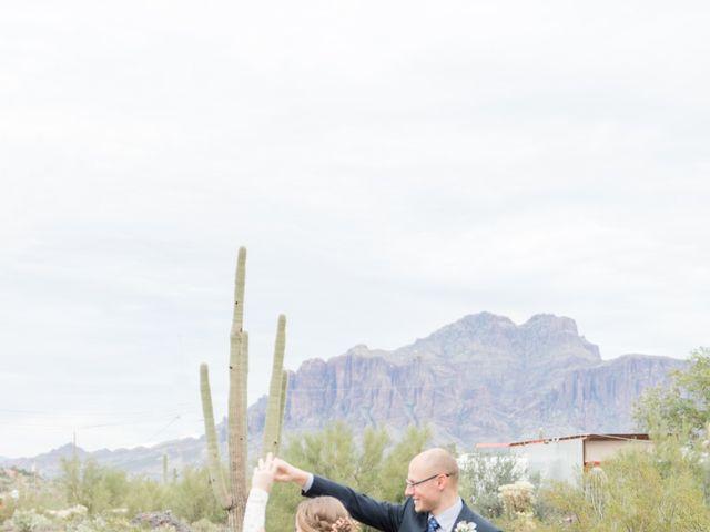 Chris and Kelsey's Wedding in Apache Junction, Arizona 15