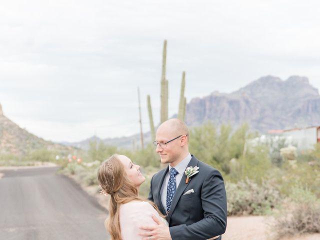Chris and Kelsey's Wedding in Apache Junction, Arizona 17