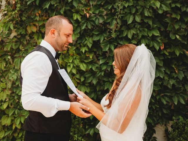 The wedding of Deidre and Colby