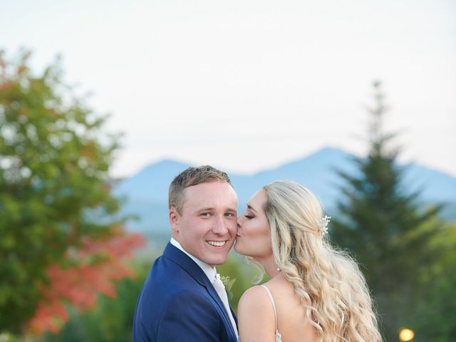 Roy and Taylor's Wedding in Whitefield, New Hampshire 54