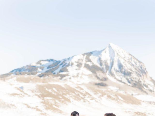 Ashley and Garrett's Wedding in Crested Butte, Colorado 13