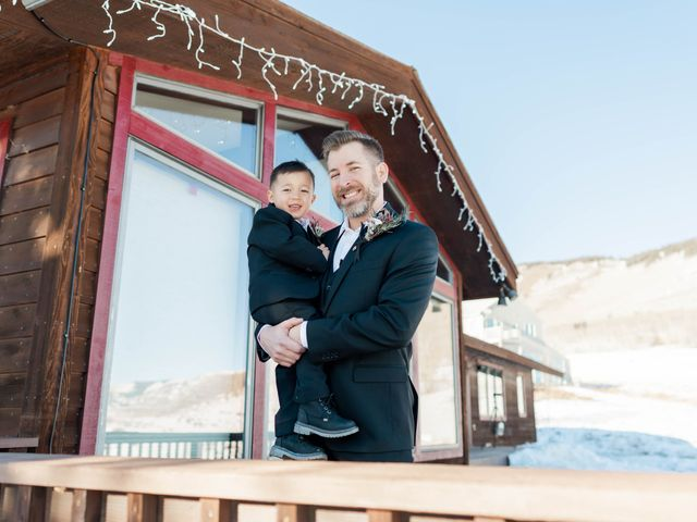 Ashley and Garrett's Wedding in Crested Butte, Colorado 14