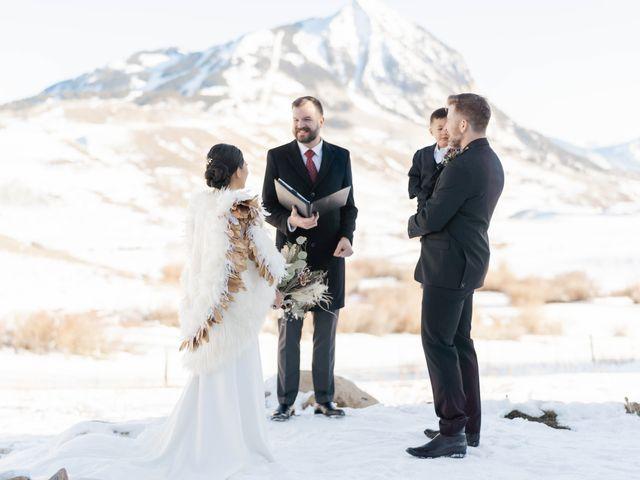 Ashley and Garrett's Wedding in Crested Butte, Colorado 1