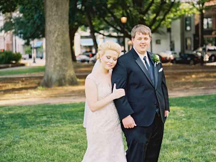 The wedding of Robert and Caroline