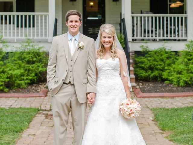The wedding of Drew and Kady