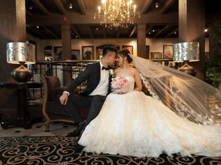 The wedding of Candice and Joby