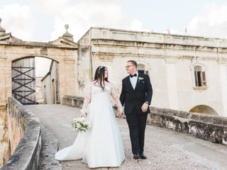 The wedding of Irving and Gabriela