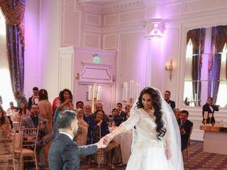 The wedding of Sahar and Ahmid 1
