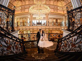 The wedding of Sahar and Ahmid