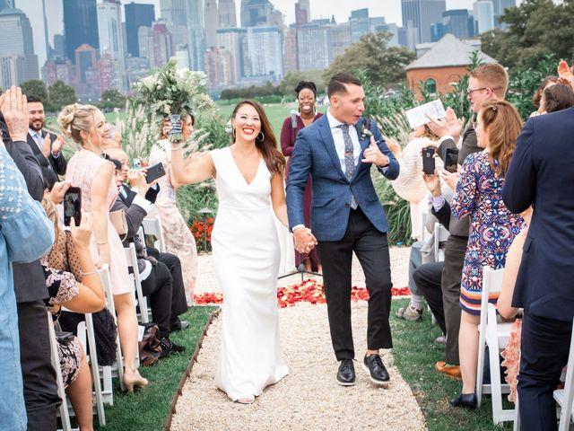 The wedding of Yoko and Adrian