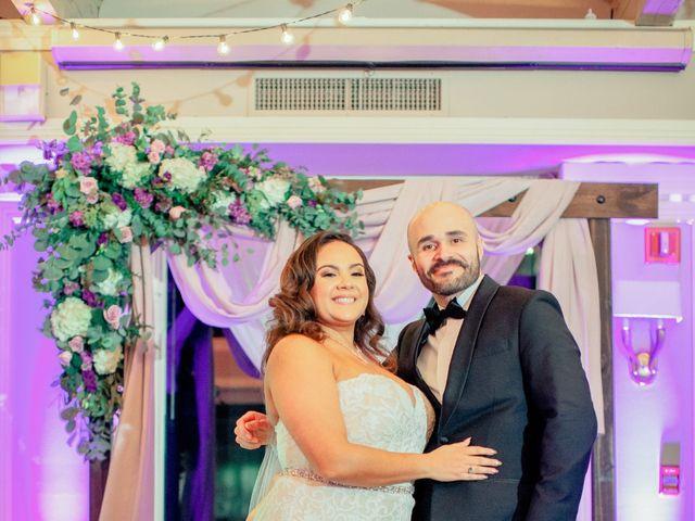 Troy and Jenniliz's Wedding in Egg Harbor City, New Jersey 17
