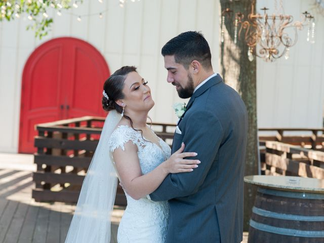 The wedding of Loriel and Brian