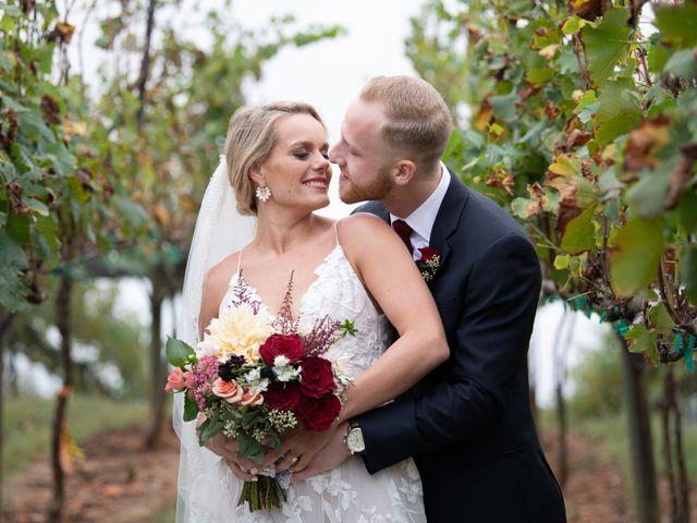 The wedding of Rachel and Nick