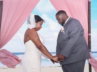 The wedding of Maya and Bruce