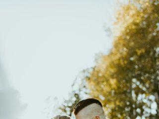 The wedding of Hannah and Gavin 1