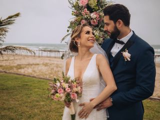 The wedding of Naidelyn and David