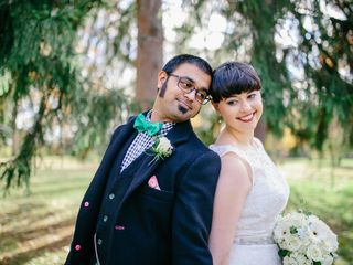 The wedding of Rishin and Rachel
