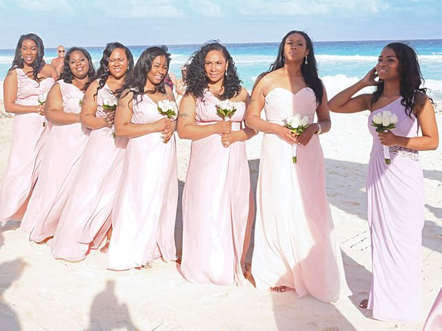 Bruce and Maya's Wedding in Cancun, Mexico 18