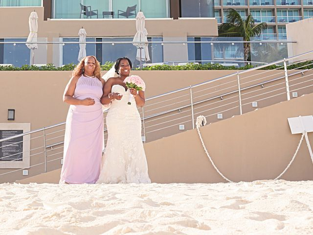 Bruce and Maya's Wedding in Cancun, Mexico 20