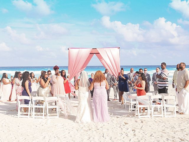 Bruce and Maya's Wedding in Cancun, Mexico 22