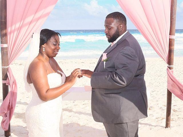 Bruce and Maya's Wedding in Cancun, Mexico 25