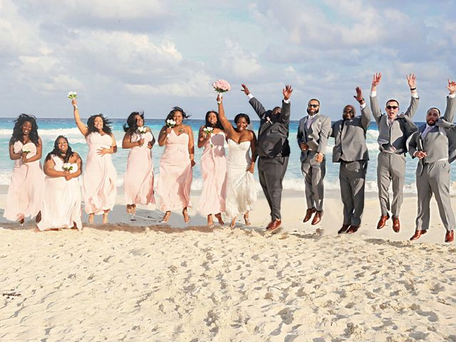 Bruce and Maya's Wedding in Cancun, Mexico 30