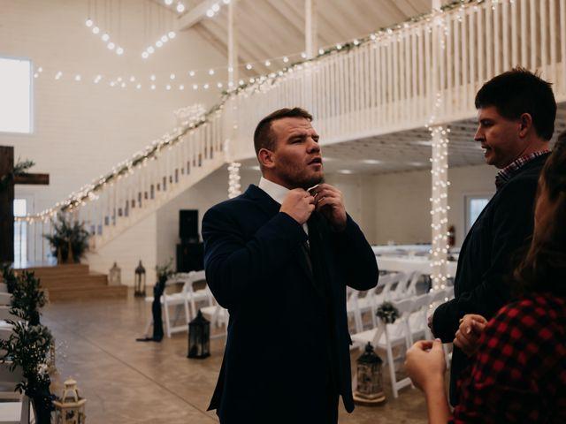 Chelsea and Trey's Wedding in Pangburn, Arkansas 1