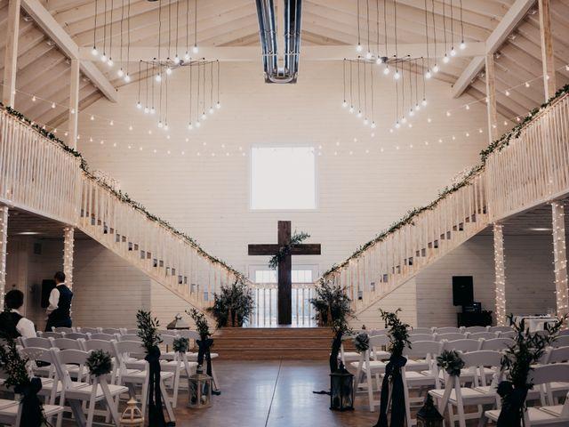 Chelsea and Trey's Wedding in Pangburn, Arkansas 4
