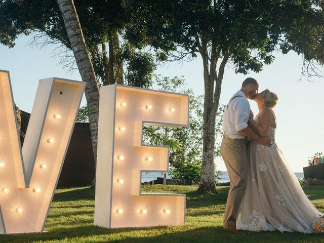 The wedding of Haley and Ryan