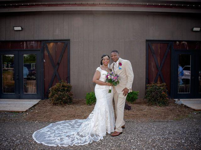 Jason and Shequita's Wedding in Griffin, Georgia 8