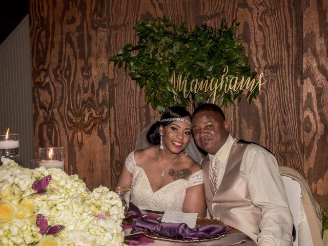The wedding of Shequita and Jason