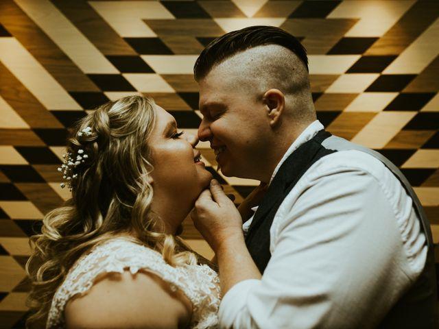 The wedding of Hannah and Gavin