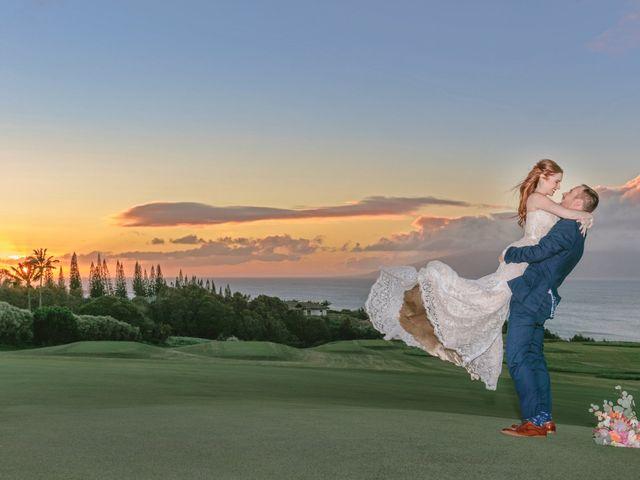 Matthew and Lindsay's Wedding in Lahaina, Hawaii 18