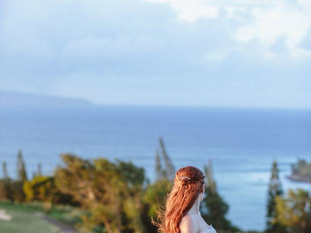 Matthew and Lindsay's Wedding in Lahaina, Hawaii 22