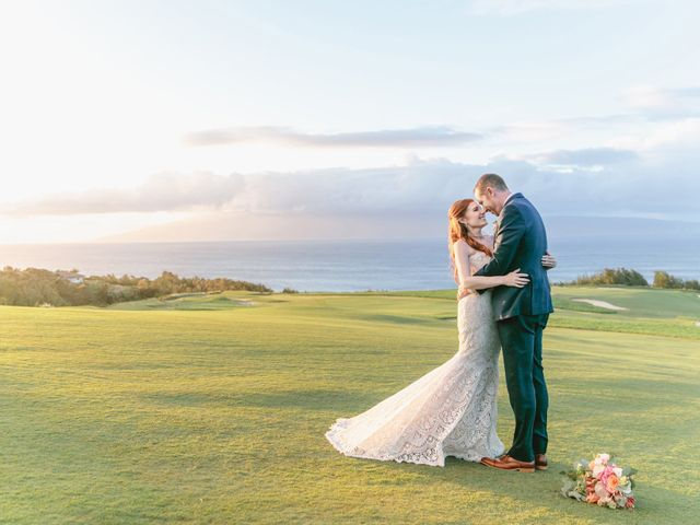 Matthew and Lindsay's Wedding in Lahaina, Hawaii 24