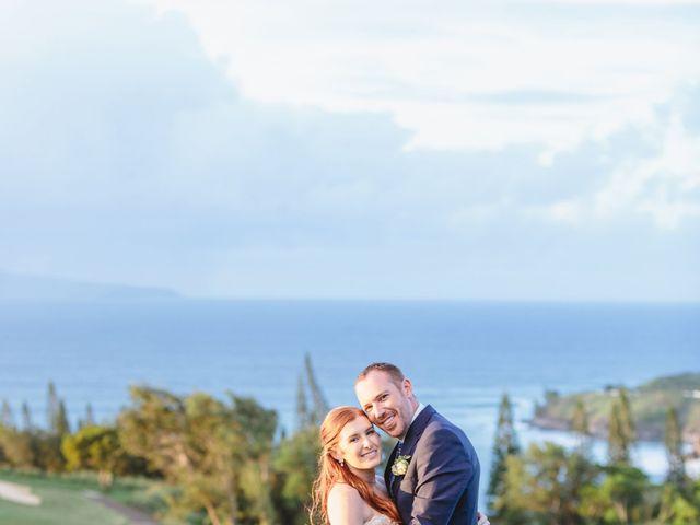 Matthew and Lindsay's Wedding in Lahaina, Hawaii 25