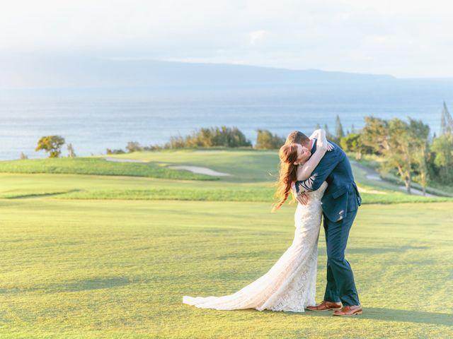 Matthew and Lindsay's Wedding in Lahaina, Hawaii 26