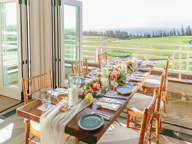 Matthew and Lindsay's Wedding in Lahaina, Hawaii 31