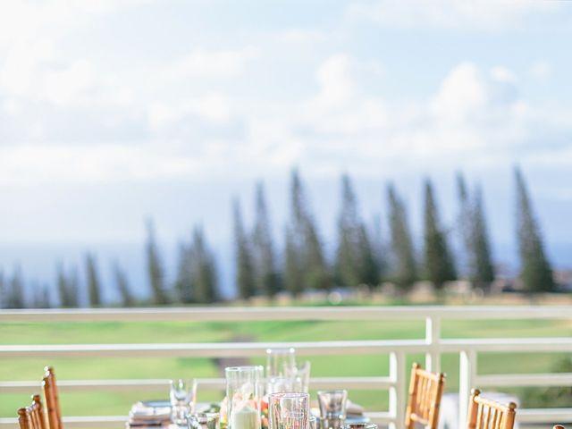 Matthew and Lindsay's Wedding in Lahaina, Hawaii 33