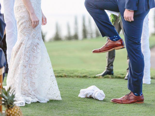 Matthew and Lindsay's Wedding in Lahaina, Hawaii 50