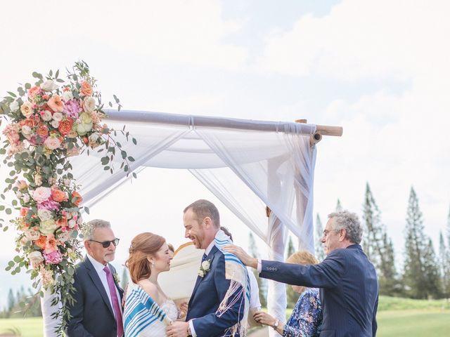 Matthew and Lindsay's Wedding in Lahaina, Hawaii 53