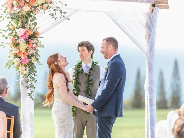 Matthew and Lindsay's Wedding in Lahaina, Hawaii 56