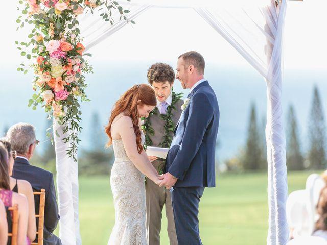 Matthew and Lindsay's Wedding in Lahaina, Hawaii 57