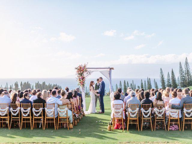 Matthew and Lindsay's Wedding in Lahaina, Hawaii 60