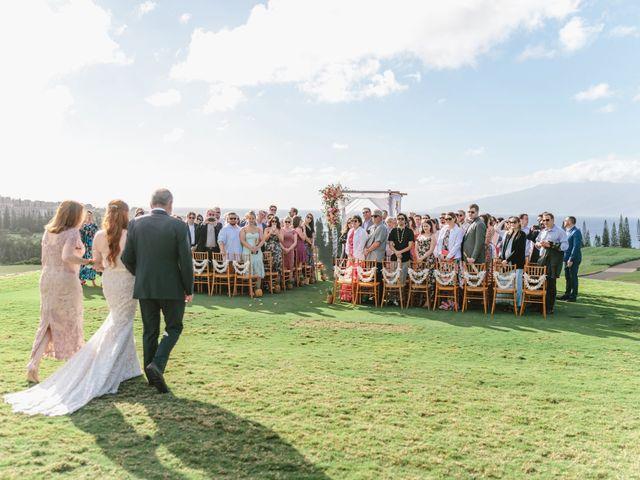 Matthew and Lindsay's Wedding in Lahaina, Hawaii 62